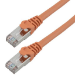 MCL 1m Cat6a S/FTP cable de red S/FTP (S-STP) Naranja
