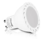 Whitenergy LED Bulb | 3x SMD 2835 LED | MR16 | GU10 | 3W| 100-250V | White Warm (09919)