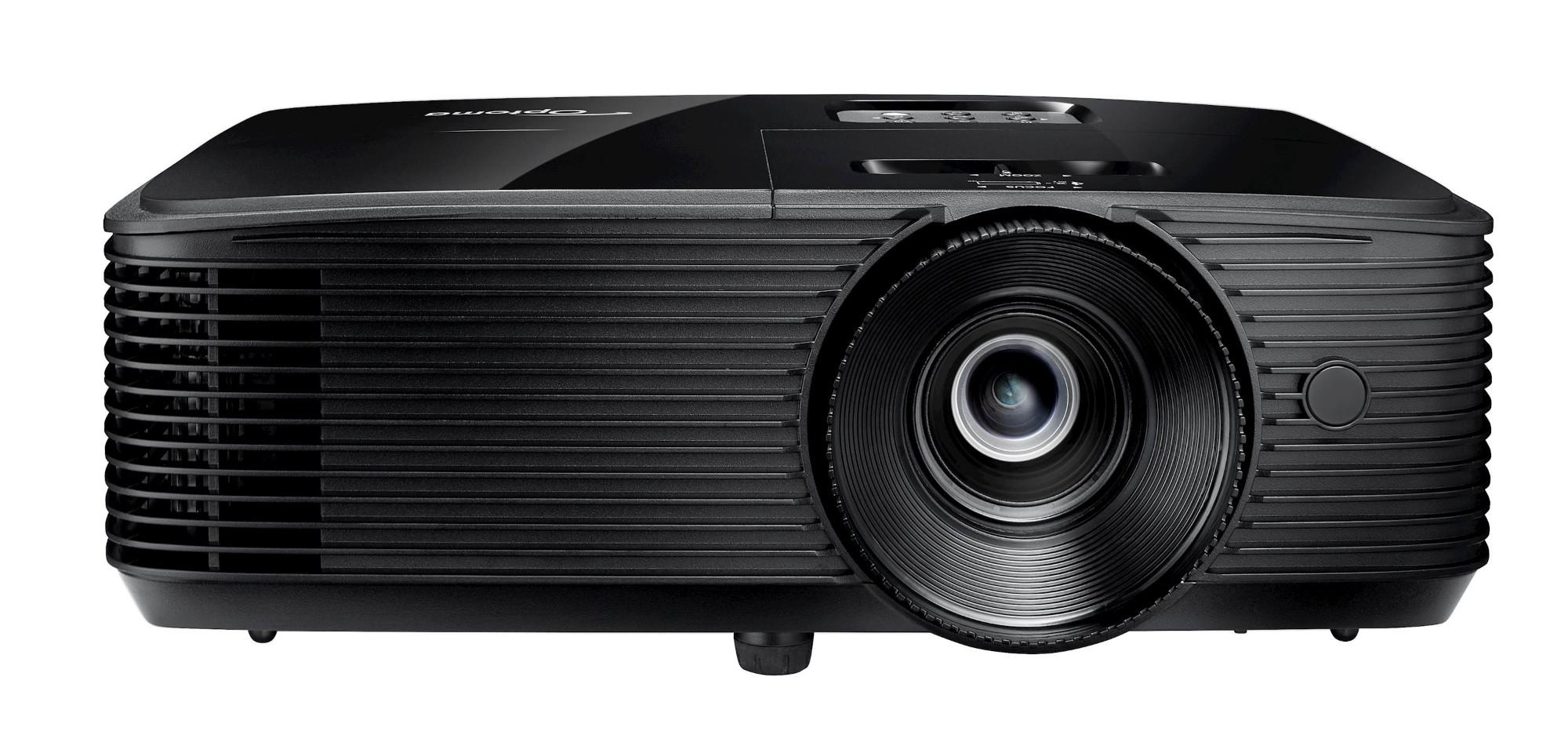 Optoma DW318e beamer/projector 3700 ANSI lumens DLP WXGA (1280x800) 3D Desktopprojector Zwart