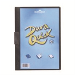 Durable Duraquick report cover Black