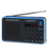 Sunstech Portable digital AM/FM Black radio Portátil Analógica Negro, Azul