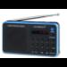 Sunstech Portable digital AM/FM Black radio Portátil Analógica Negro, Azul