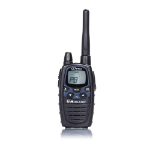 Midland G7 PRO 8channels 446.00625 - 446.09375MHz Black two-way radio
