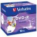 Verbatim DVD+R Wide Inkjet Printable ID Brand 43508