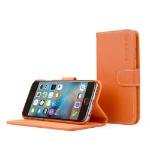 "TheSnugg B00PASJUDA 4.7"" Folio Orange mobile phone case"