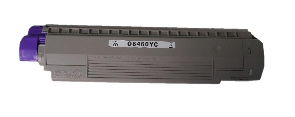 Remanufactured OKI 44059229 Yellow Toner Cartridge
