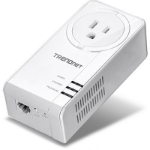 Trendnet TPL-421E 1200Mbit/s Ethernet LAN White 1pc(s) PowerLine network adapter