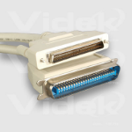 Videk C50M to HP DB68M SCSI Cable 0.5m 0.5m SCSI cable