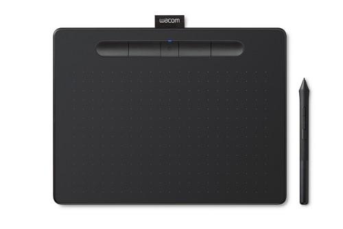 Wacom Intuos S graphic tablet 2540 lpi 152 x 95 mm USB/Bluetooth Black