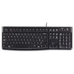 Logitech K120 USB QWERTY UK English Black