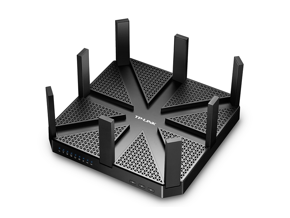 TP-LINK Talon AD7200 Ethernet LAN Black wired router