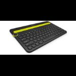 Logitech K480 toetsenbord Bluetooth QWERTZ Duits Zwart