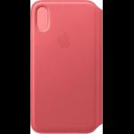 "Apple MRX12ZM/A mobile phone case 14.7 cm (5.8"") Folio Pink"