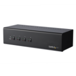StarTech.com 4-Port Dual-Monitor Dual-Link DVI KVM Switch with USB 3.0 Hub