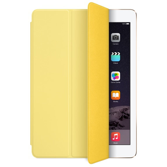 Apple iPad Air Case -  Yellow, Official By Apple (MF057ZM/A)