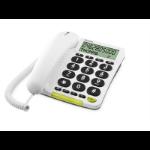 Doro 312cs Analog telephone Caller ID White