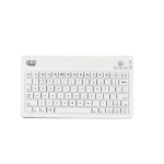 Adesso WKB-2000BW Bluetooth/Micro-USB White mobile device keyboard