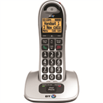 British Telecom BT 4000 Single DECT telephone Black,Silver