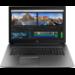 "HP ZBook 17 G5 Black,Silver Mobile workstation 43.9 cm (17.3"") 1920 x 1080 pixels 8th gen Intel® Core™ i7 32 GB DDR4-SDRAM 512 GB SSD Windows 10 Pro"