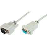 ASSMANN Electronic AK-610202-020-E seriële kabel Beige 2 m VGA (D-Sub)