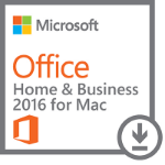 Microsoft Office Home & Business 2016 for Mac 1user(s) Multilingual