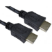 Cables Direct 77HDMI-018 HDMI cable 1.8 m HDMI Type A (Standard) Black