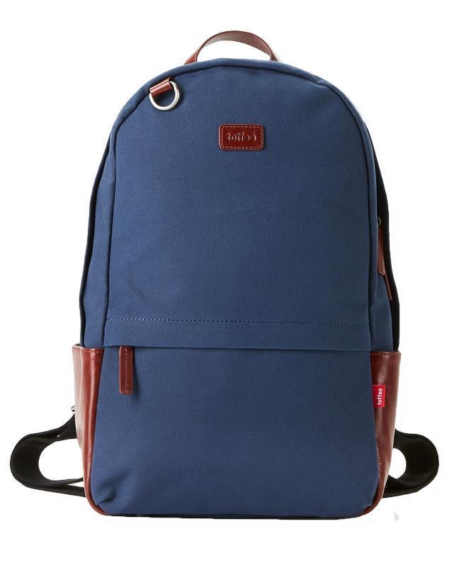 """Toffee Berlin Backpack for 13"""" Messenger Shoulder Bags Navy"""
