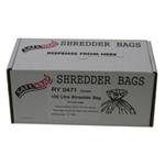 FSMISC SAFEWRAP SHREDDER BAGS 100 LITRE PK50