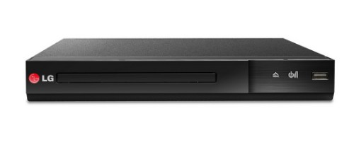 LG DP132 DVD player Black