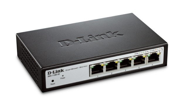D-Link DGS-1100-05 Managed L2 Gigabit Ethernet (10/100/1000) Grey