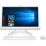 "HP 24 -e034na 2.4GHz i3-7100U 7th gen Intel® Core™ i3 23.8"" 1920 x 1080pixels White All-in-One PC"