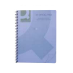 Q-CONNECT KF10037 writing notebook Blue 160 sheets