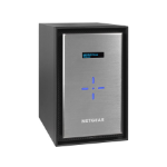 Netgear ReadyNAS 528X Ethernet LAN Mini Tower Black,Silver NAS
