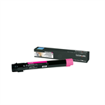 Lexmark X950X2MG Toner magenta, 22K pages