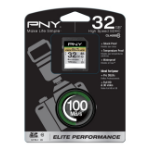 PNY Elite Performance memory card 32 GB SDHC Class 10