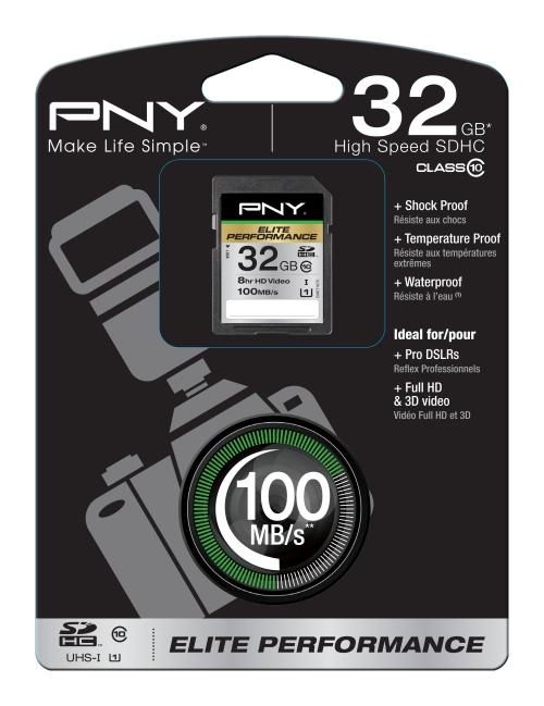 PNY 32GB SDHC 32GB SDHC Class 10 memory card