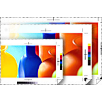 "Epson Proofing Paper Commercial 17"" x 100' inkjet paper Semi-matte"