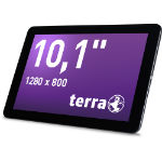 Wortmann AG TERRA PAD 1004 16GB 4G Black tablet
