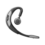 Jabra Motion UC MS mobile headset Monaural Ear-hook Black, Silver Wireless