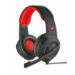 Trust GXT 310 Auriculares Casco Rojo