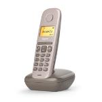 Gigaset A170 Teléfono DECT Chocolate Identificador de llamadas