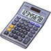 Casio MS-80VERII Desktop Basic Violet calculator