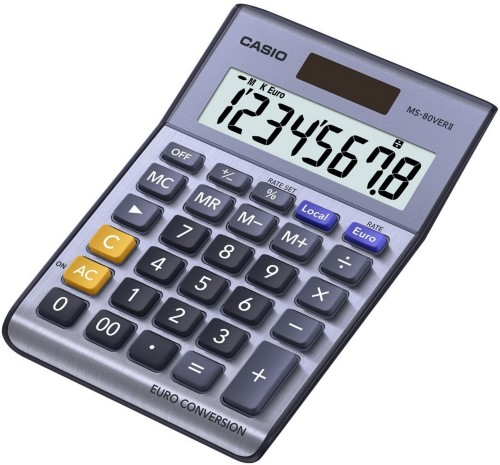 Casio MS-80VERII calculator Desktop Basic Violet