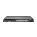 Hewlett Packard Enterprise Aruba 3810M 24G PoE+ 1-slot Switch Managed L3 Gigabit Ethernet (10/100/1000) Power over Ethernet (PoE) 1U Black