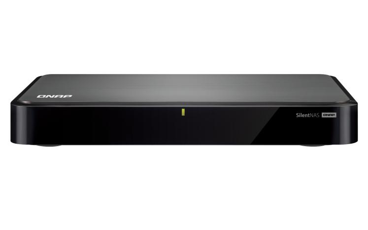 QNAP HS-251 storage server Ethernet LAN Desktop Black NAS
