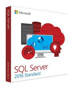 Microsoft SQL Server 2016 Standard Edition
