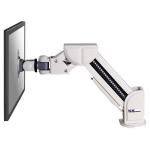 "Newstar Tilt/Turn/Rotate Desk Mount (clamp) for 10-30"" Monitor Screen, Height Adjustable - Grey"