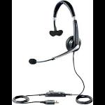 Jabra UC Voice 550 MS Mono USB Monaural Head-band Black,Silver headset