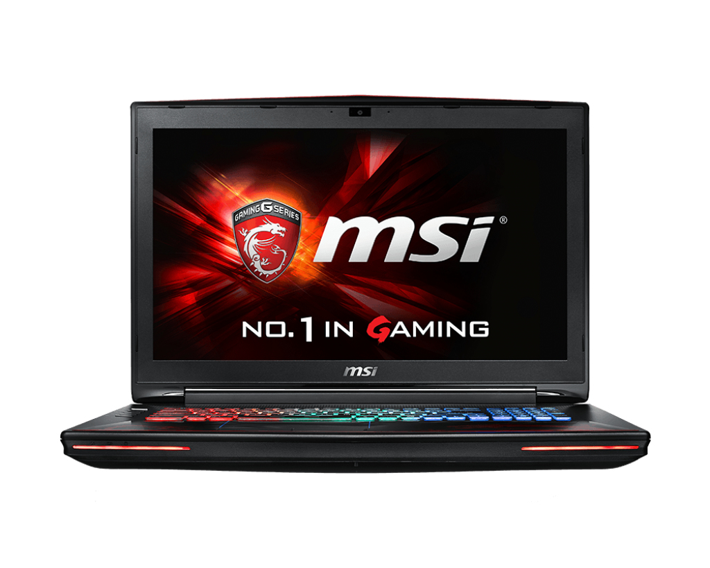 "MSI Gaming GT72S 6QF-093UK Dominator Pro G Dragon Edition 4K 2.7GHz i7-6820HK 17.3"" 3840 x 2160pixels Black,Red Notebook"