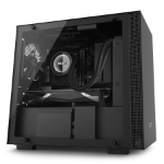 NZXT H200i Mini-Tower Black computer case
